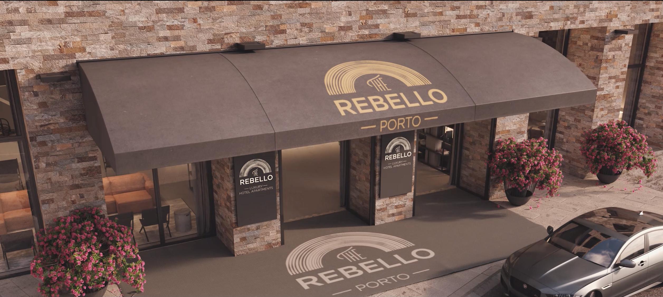 The Rebello hotel- Porto